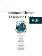 solomon charter discipline code