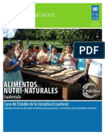 ALIMENTOS NUTRI-NATURALES (Guatemala) Caso de Estudio de la Iniciativa Ecuatorial