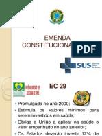 EMENDA CONSTITUCIONAL Nº 29 (1)
