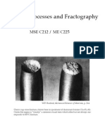 Fracture Processes and Fractography