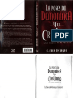 Fred Dickason La Posesion Demoniaca y El Cristiano