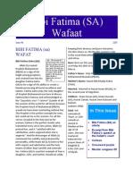 Bibi Fatima Wafat-PDF