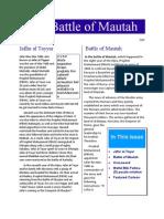 Battle of Mautah