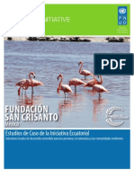 FUNDACIÓN SAN CRISANTO (Mexico) Estudios de Caso de la Iniciativa Ecuatorial