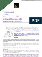 O livre-arbítrio não é mito _ Portal da Teologia.pdf