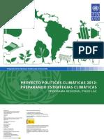 Informe de resultados – Proyecto Políticas Climáticas 2012