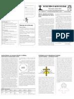 Boletín Parroquia Jesús Niño N°4 Año I