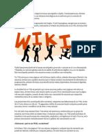 ¿QUÉ ES LA WIKI? by Miguel Maestro