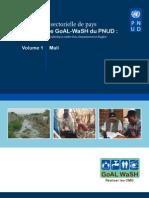 Évaluation sectorielle de pays  Programme GoAL-WaSH du PNUD