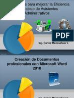 Presentación Expoflores Word 2010