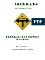 BAISD EI Programs Crossroads Manual