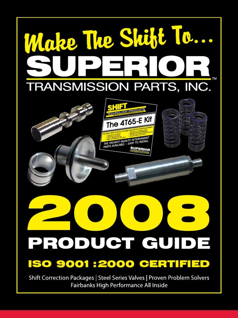 E40D Low Reverse Modulator Valve Spring Superior K043 No Bang