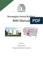 2011-11-01 Norwegian Home Builders Association - BIM-Manual 1.0