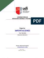 Información de Experto en Importaciones - 1raVersión