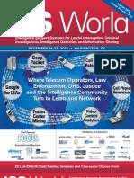ISSWorldFallISS World Intelligence Support Systems for Lawful Interception, Criminal Investigations, Intelligence Gathering and Information Sharing07 Bro Web