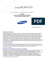 Samsung Galaxy S4 CDMA User Manual