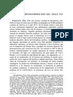 El léxico hispanoamericano del Siglo XVI - Peter Boyd-Bowman