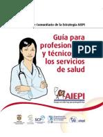 Guia Para Profesionales y Tecnicos de Los Servicios de Salud