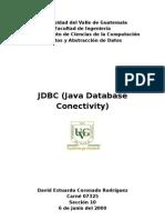 JDBC Java Database Conectivity