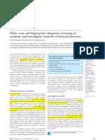 White Coats and Fingerprints Diagnostic Reasoning in Medicine a (1)