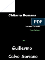 Chitarra Romana - Luciano Pavarotti