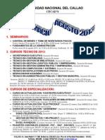Programacion Agosto 2013