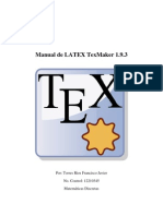 Manual de LATEX TexMaker