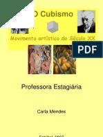 cubismo - movimento artístico do século XX - ppt