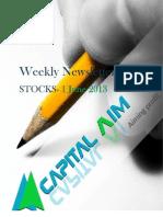 Stocks Weekly Newsletter1june 2013 01 06 2013