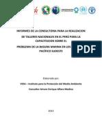 Informe de Talleres sobre Basura Marina en el Perú - CPPS.docx