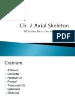 Ch.pptxaxial Skeleton 2 2