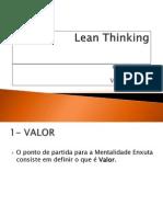 Lean Thinking_os 5 Passos - FREE