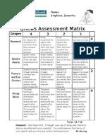 Qnews Assessment Matrix Steph Samantha