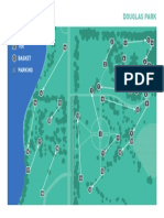 Proposed disk golf course map