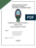 Inforne de Proyecto de Elt. Dig. II (Sistema de Seguridad de Un Domicilio)