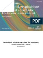 Deus Digital, Religiosidade Internet Fiel Conectado
