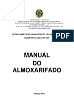 Manual Almoxarifado