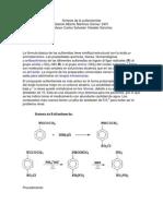 Síntesis de la sulfanilamida