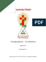 Astralprojektion - En Definition