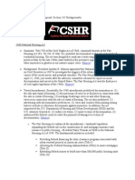 NFHA - Section 242 Backgrounder