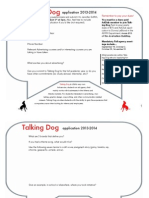 Talking Dog Application 2014