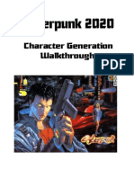 CyberPunk 2020 This Walkthrough in PDF Format