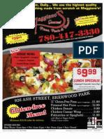 Maggiano's Pizza & Donair Menu