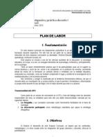 Asic, Invest y Prac Plan y Programa 2013