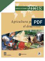 Agricultura Para El Desarrollo Informae 2008