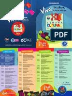 Programacion Semana Cultural 2013