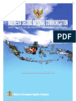 Indonesia Second National Commitment to the UNFCCC