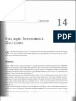 14. Strategic Investment Decisions