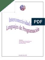 Notas Interconectividad Lenguajes