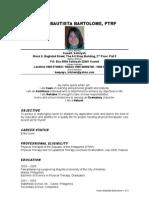 Karen Bartolome Resume